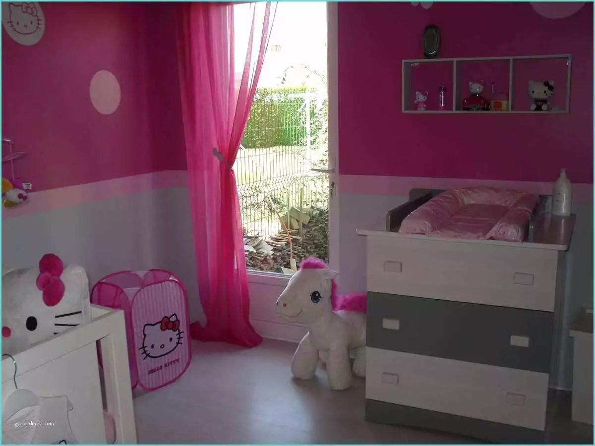 Chambre Bebe Gris Rose | Idee Deco Chambre Fille Rose Et Gris