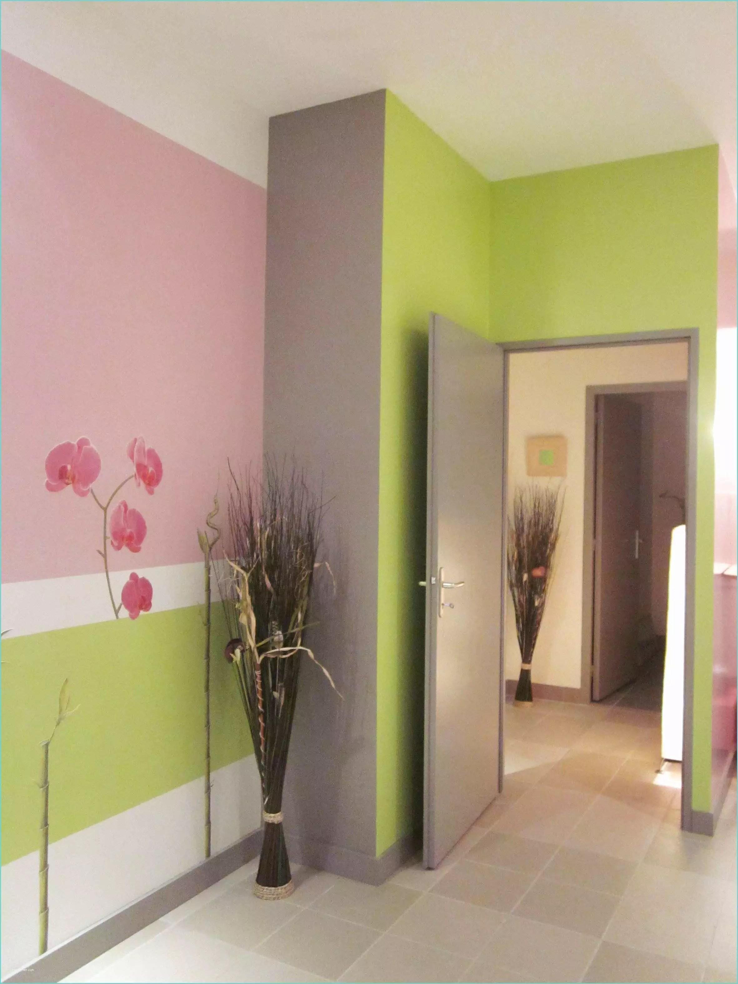 Decoration Interieur Peinture Couloir | Divin Idee Deco Couloir ...