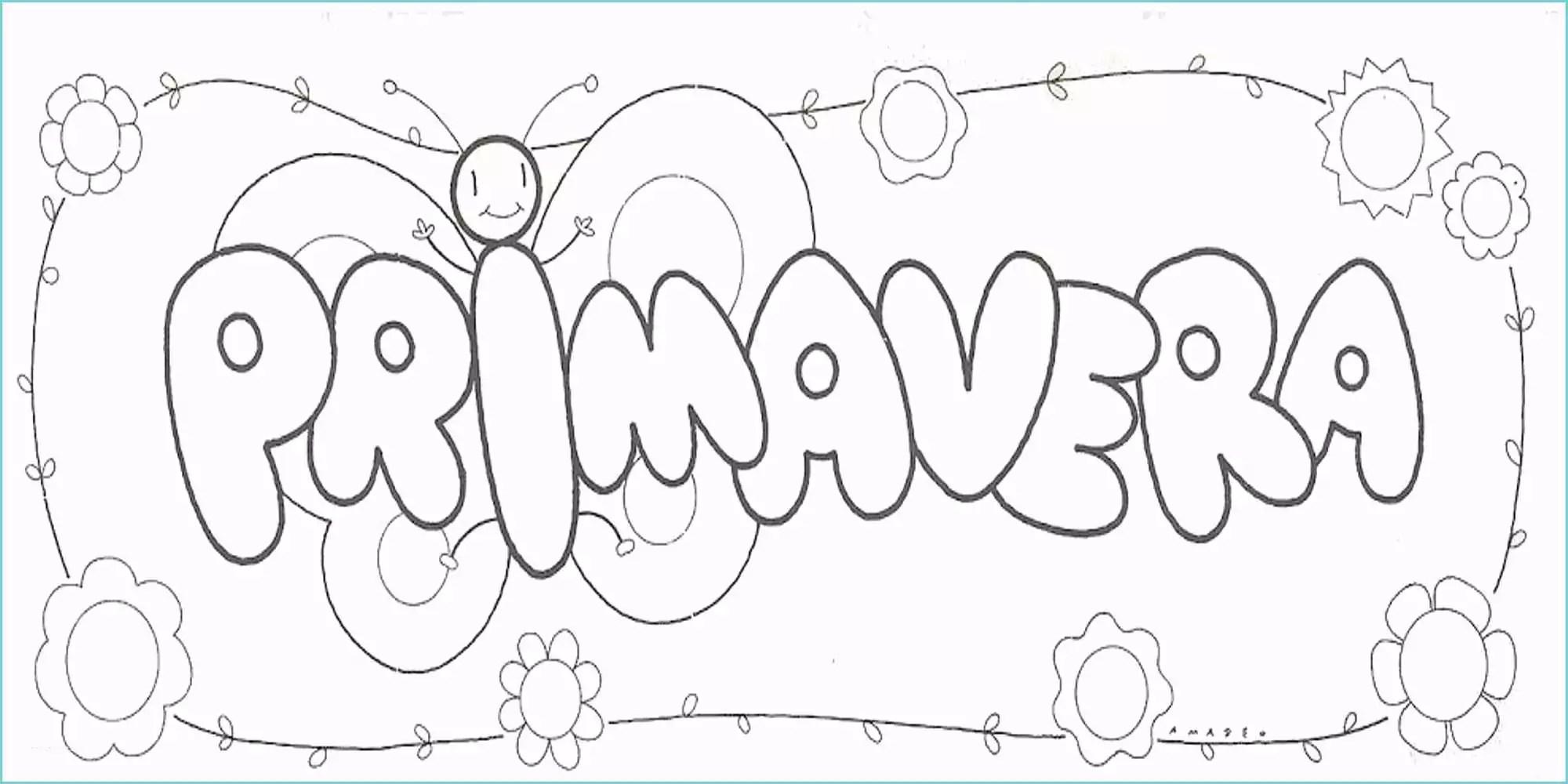 Primavera da colorare per bambini disegni da colorare for Immagini sulla primavera da stampare e colorare