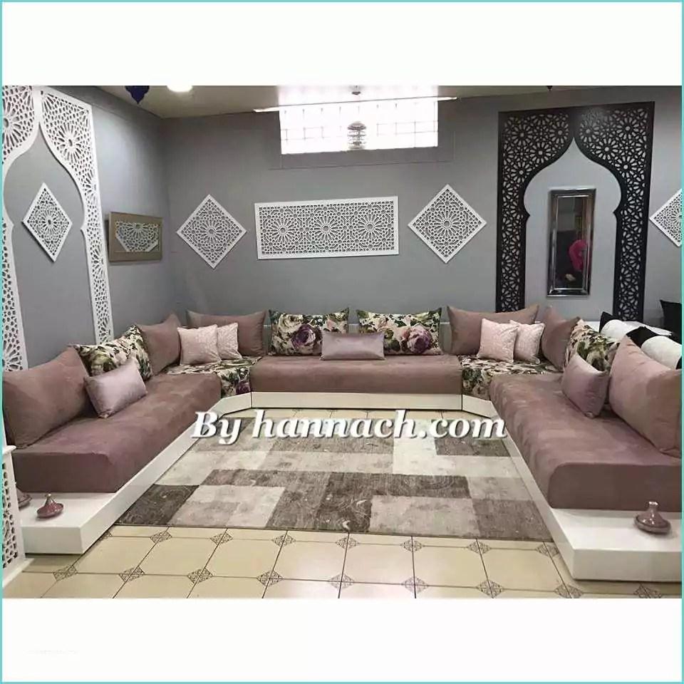 Salon Marocain Blanc