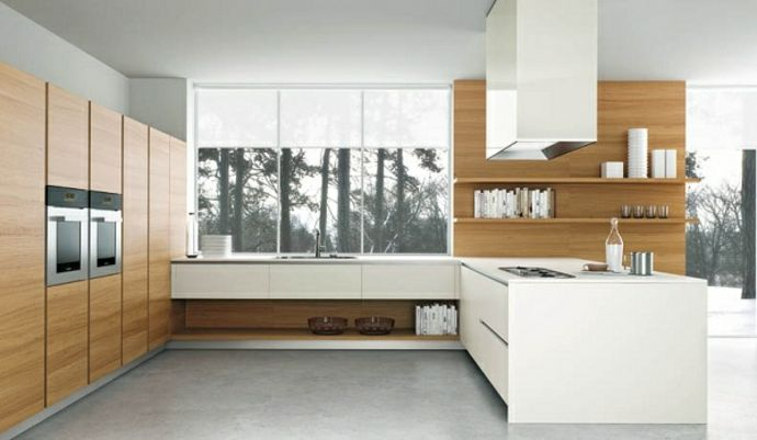 Küchendesign u2013 Ideen für das moderne Zuhause - Trendomat - moderne kuchen weiss holz