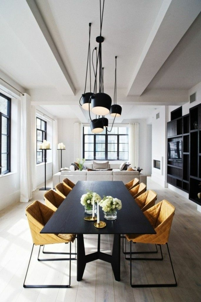 minimalistische einrichtungsideen für weißes esszimmer design ...