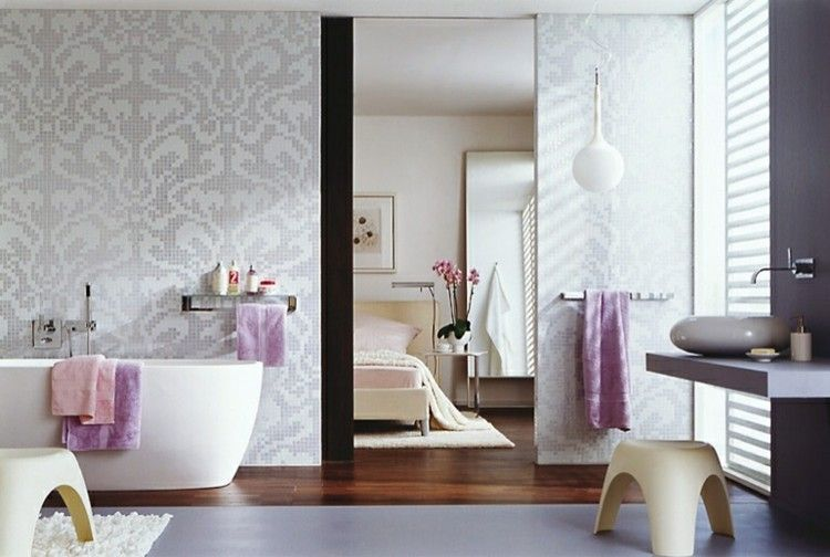 Badfliesen u2013 aktuelle Trends 2017 in Bildern und Ideen für moderne - badezimmer pink