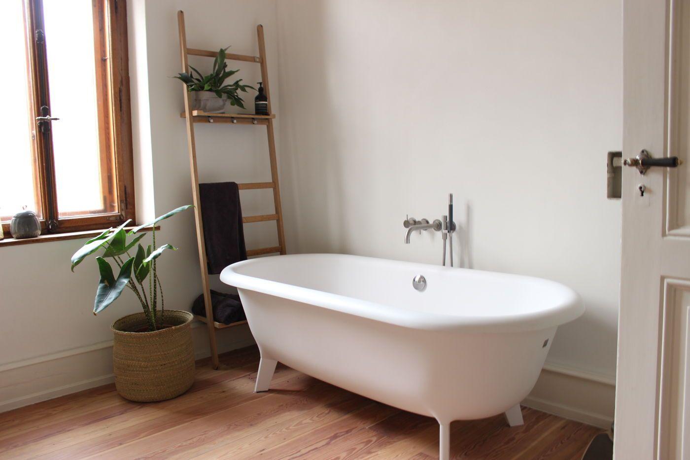 Badezimmer Bilder Retro Bad Landhausstil Ein Badezimmer Im Shabby