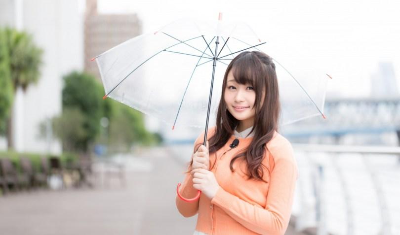 傘がいるよ!と教えてくれるお天気キャスター