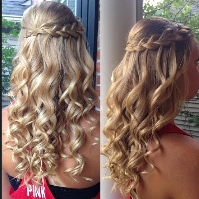 braided hairstyles with curls