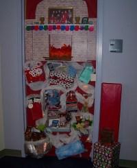 Office Door: Office Door Xmas Decorations