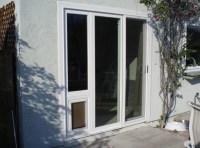 Sliding Screen Door: Sliding Screen Door With Doggie Door