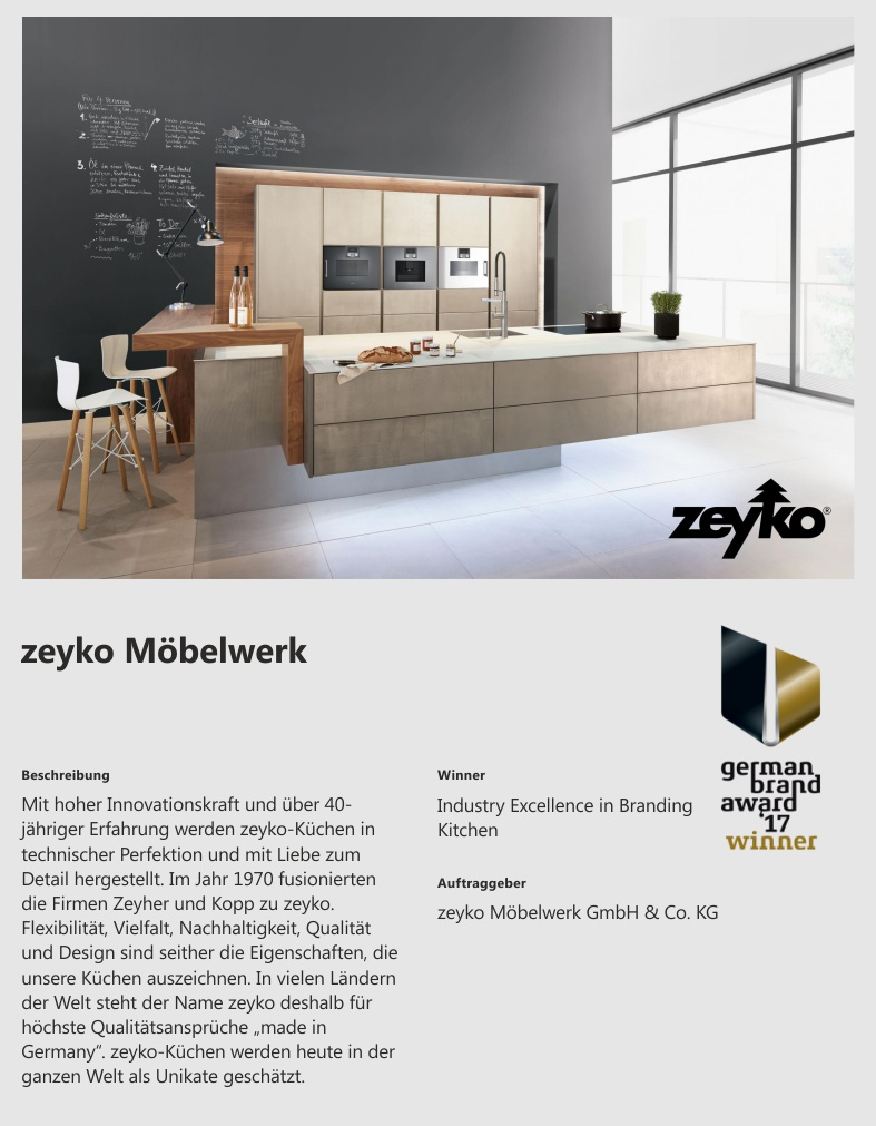 Zeyko Küchen Insolvent Trend Store Shop Creation
