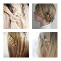 Easy Summer Hairstyle DIY | Celtic Knot Hair Tutorial ...