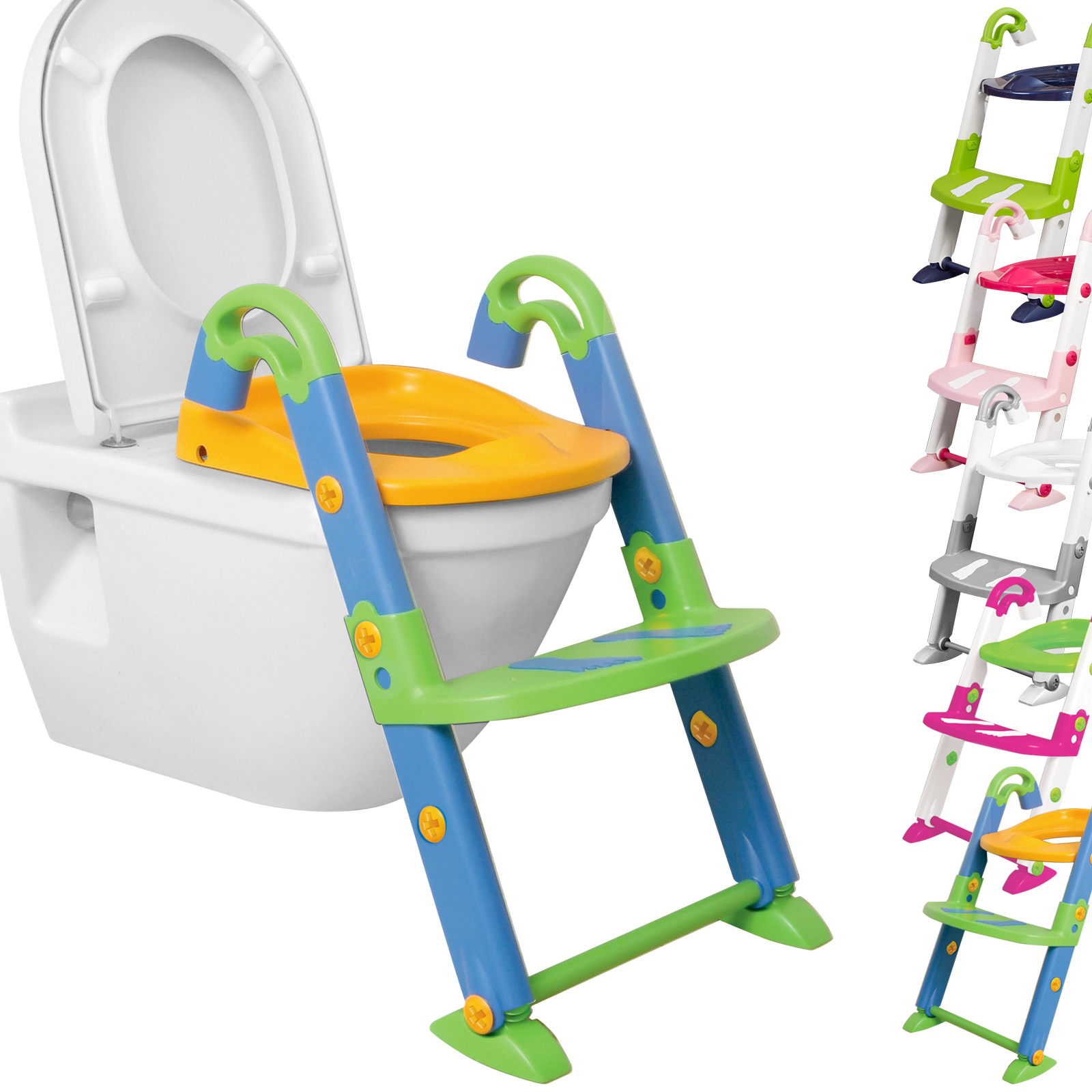 Toilettensitz Für Kinder Kidskit 3in1 Toilettentrainer Kinder Wc Sitz Toilettensitz ...