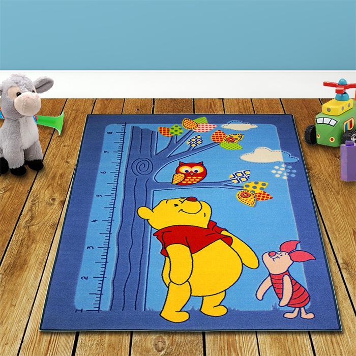 Winnie Pooh Teppiche Blau