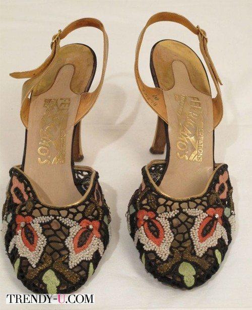 Настоящие туфли 50-х годов от Salvatore Ferragamo
