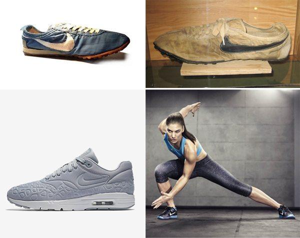 Кроссовки Nike: 1971 VS 2016