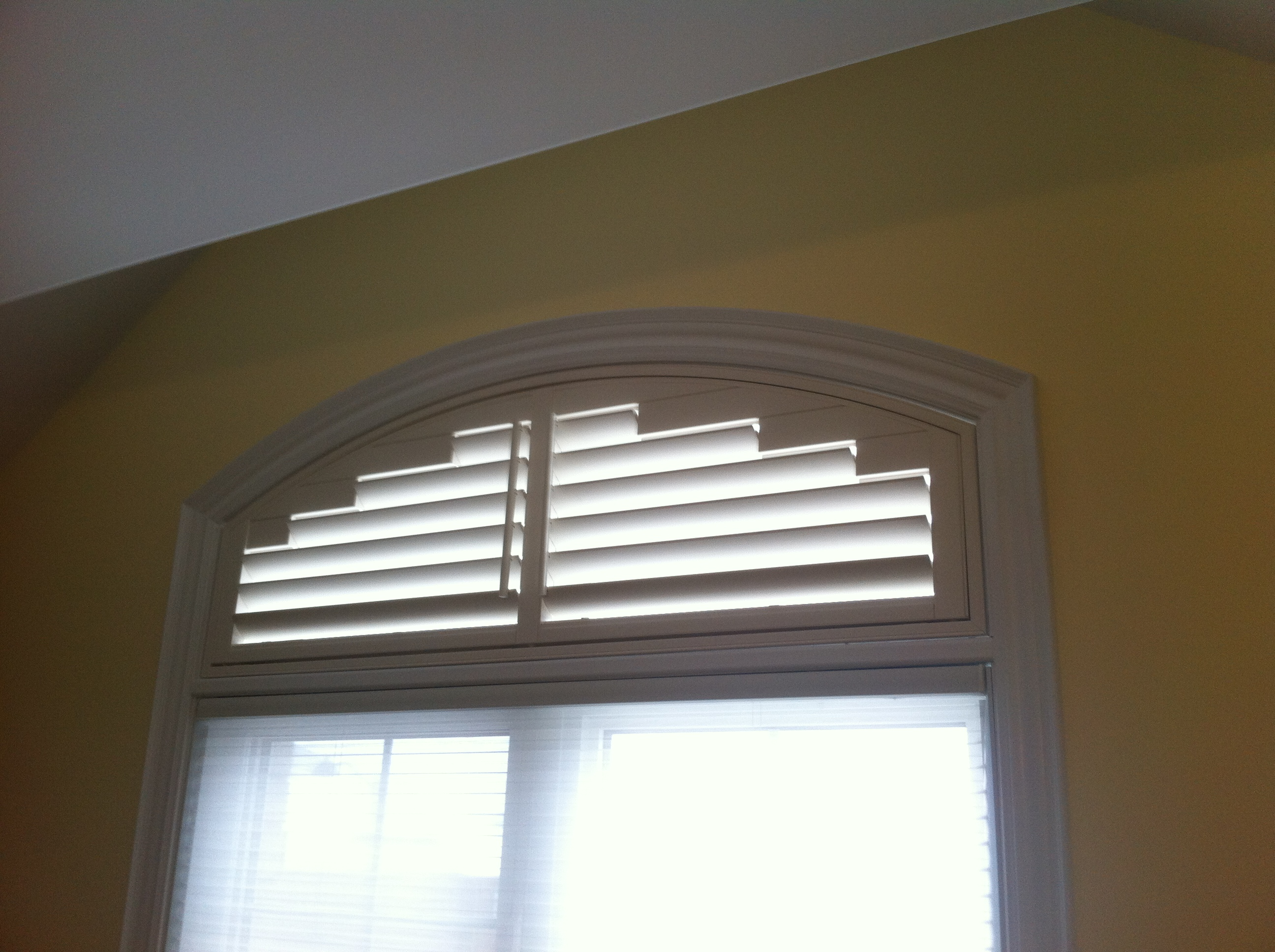 Arch window shade fabulous loweus arch window shades