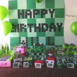 Birthday party craft banners