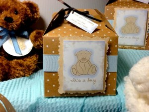 Teddy Bear Boy Baby Shower