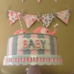 Pink and gray Elphant baby shower (20)
