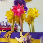 Rapunzel Birthday Party decoration