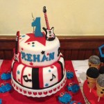 Rock Star Birthday Party Cake