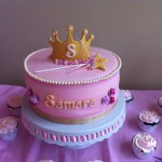 samara birthday princcess party cake