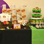 sports birthday party