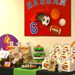 Sports Birthday Party