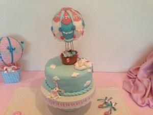 customized Hot Balloon cake