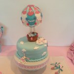 customized Hot Balloon cake