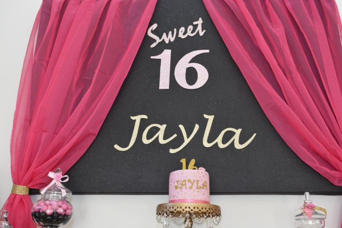 SWEET 16 COCKTAIL BIRTHDAY PARTY
