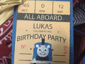 Choo Choo Train Birthday Party