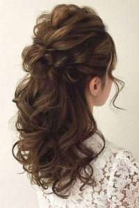 Wedding Hairstyles: Wedding Hair Half Up Ideas #weddings # ...