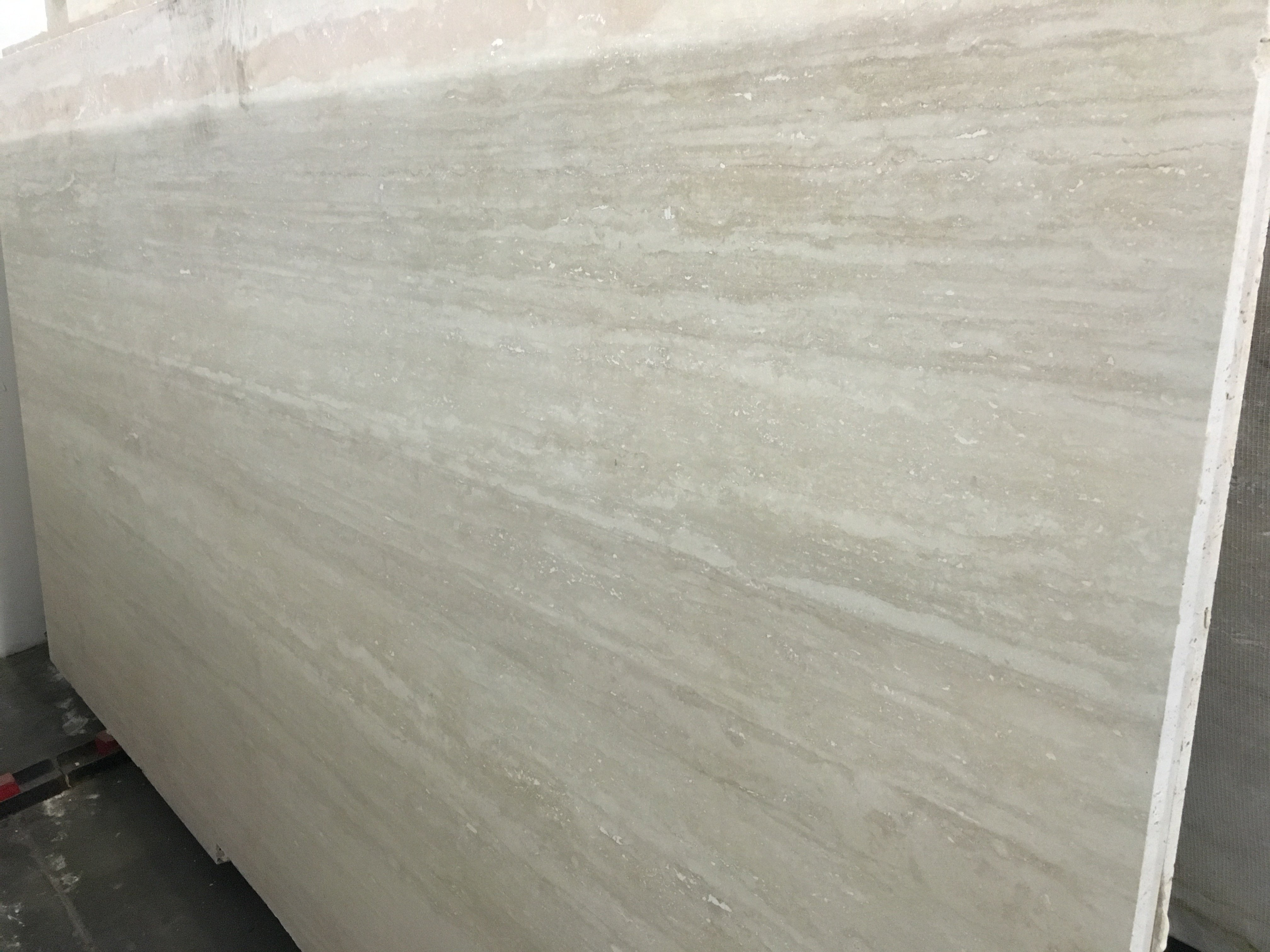 Honed Quartz Countertops Ivory Vein Cut Honed Travertine Slab Trendy Surfaces
