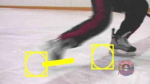 Mechanika odrazu při bruslení – Varsity Hockey