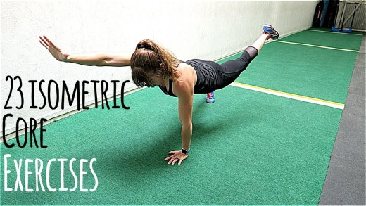 23 Isometric Core Exercises
