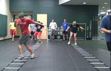 Basic Speed Ladder Drills – Charlie Melton