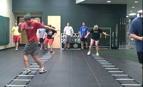 Basic Speed Ladder Drills – Charlie Melton