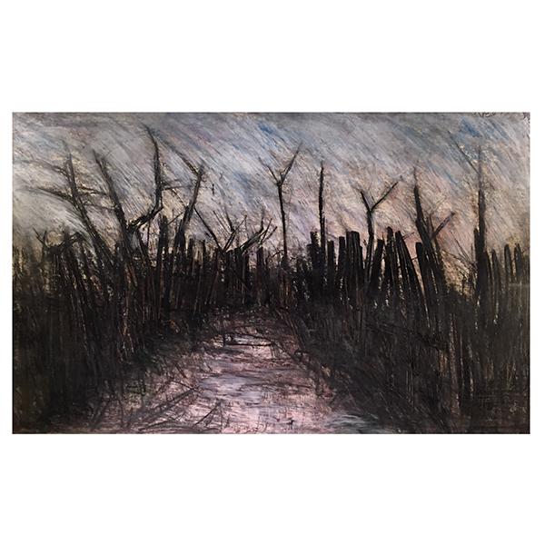 Arthur Bery Paintings Modernist Landscape Trent Art