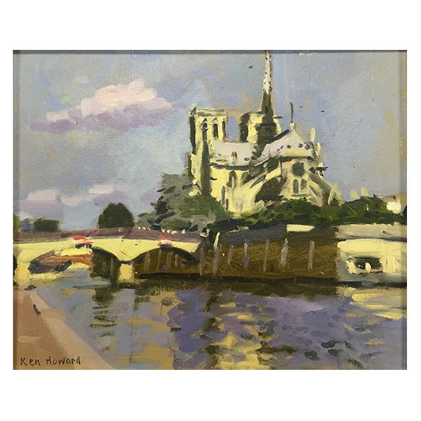 Notre-Dame-and-the-Pont-de-LArchevechie-Professor-Ken-Howard-Trent-Art