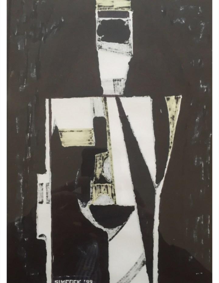 Abstract Drawing #96, Jack Simcoc