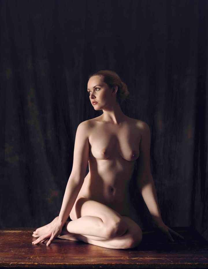 Folded Nude V (Carla), James Hall