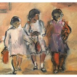 Howard, Ghislaine (1953 – ) Algerian School Children (365 Series)