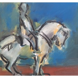Howard, Ghislaine (1953 – ) Chinese Horse