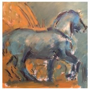 Howard, Ghislaine (1953 – ) San Marco Horse (2106)