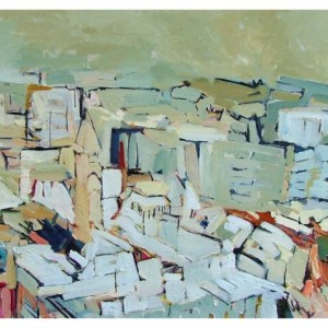 Taylor, Colin (1960 – ) South from Portland Tower, Manchester