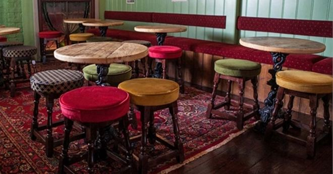 Traditional Wooden Stools For Pubs Or Bars Trent Furniture