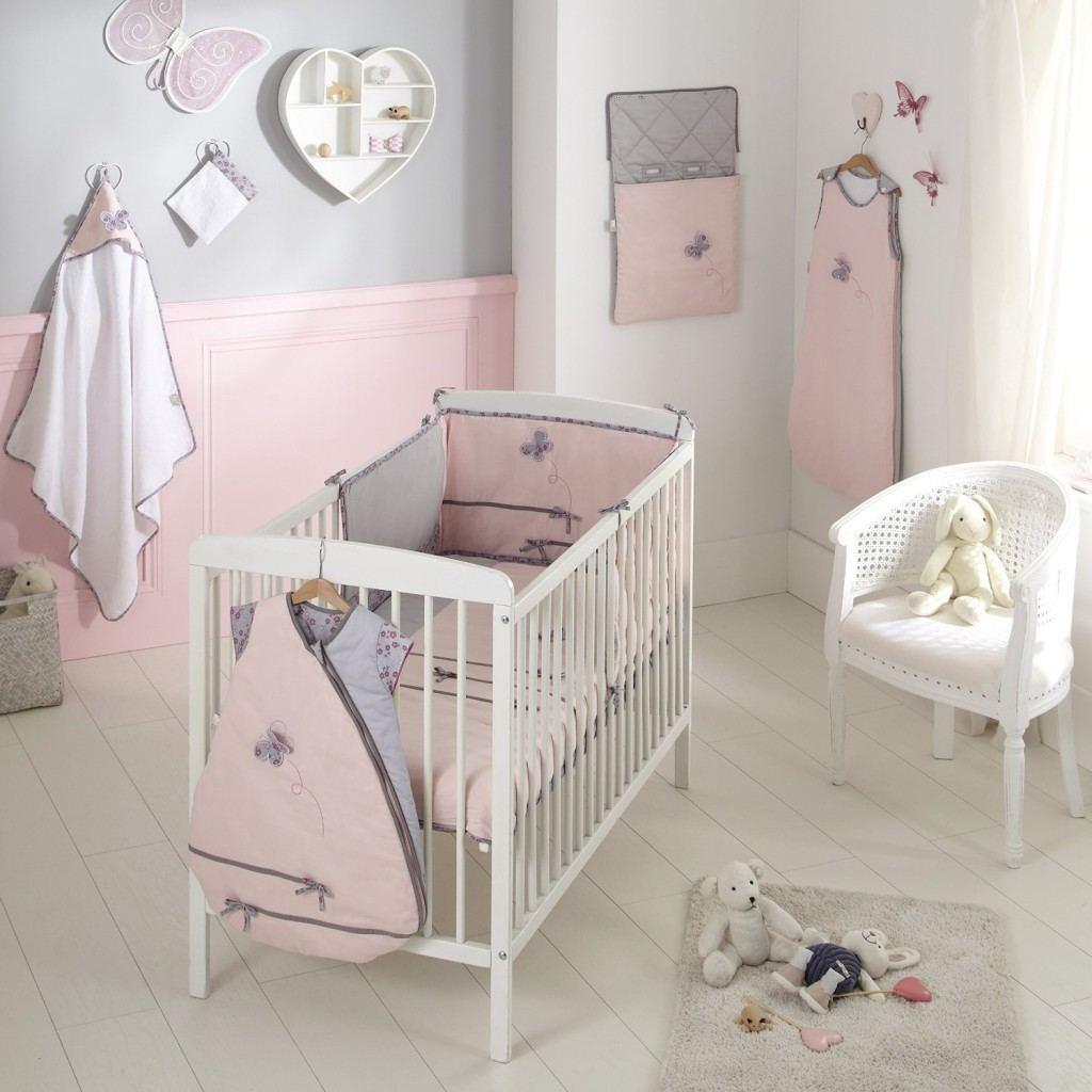 Idee Deco Chambre Bebe Fille Rose Et Gris | Chambre Bébé Fille Gris ...