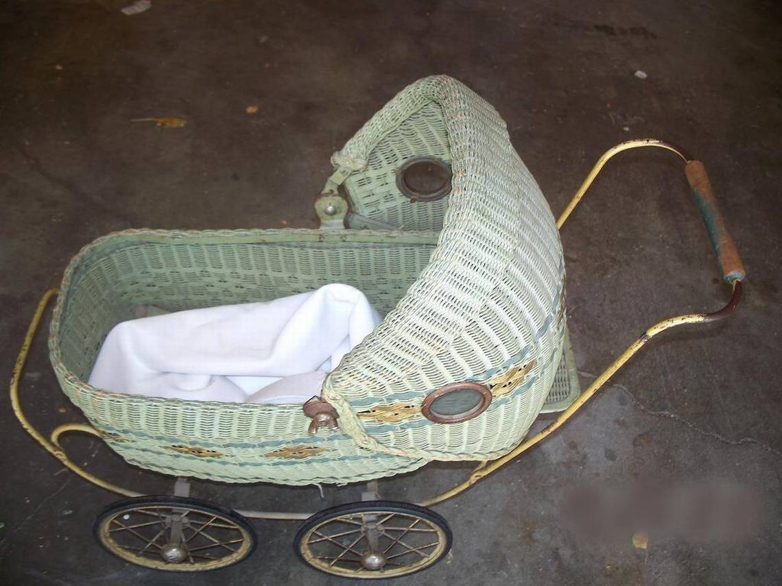 Vintage Toy Stroller What S It Worth Baby Carriage A Common Collectible But