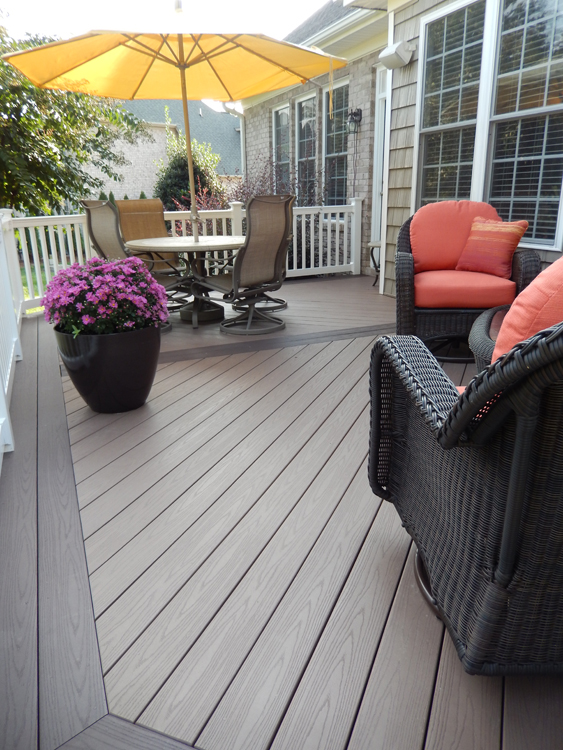 Azek Kona And Sedona Rich Brown Brown Composite Deck