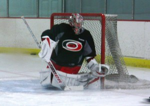 Carolina_Hurricanes_Cam_Ward_butterfly